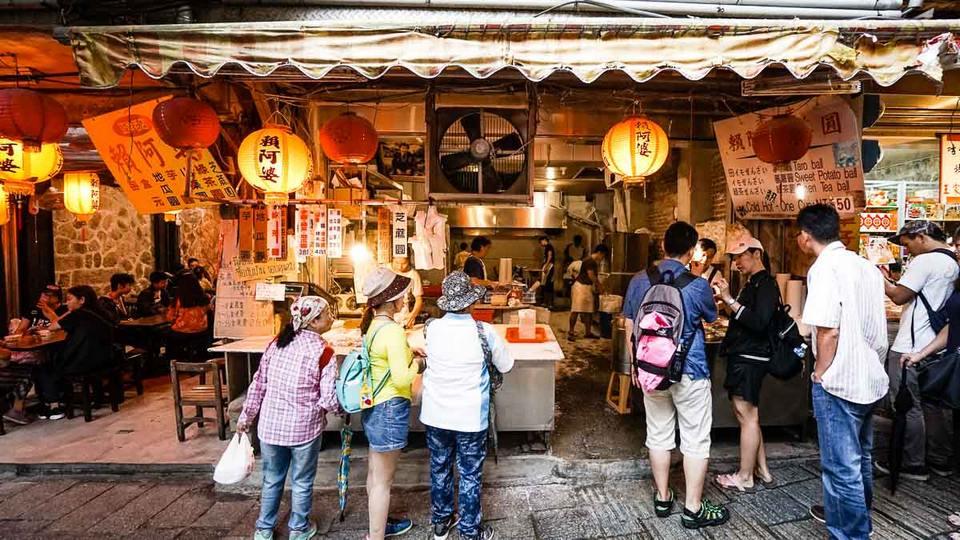 Grandma Lai Taro Balls Shop front