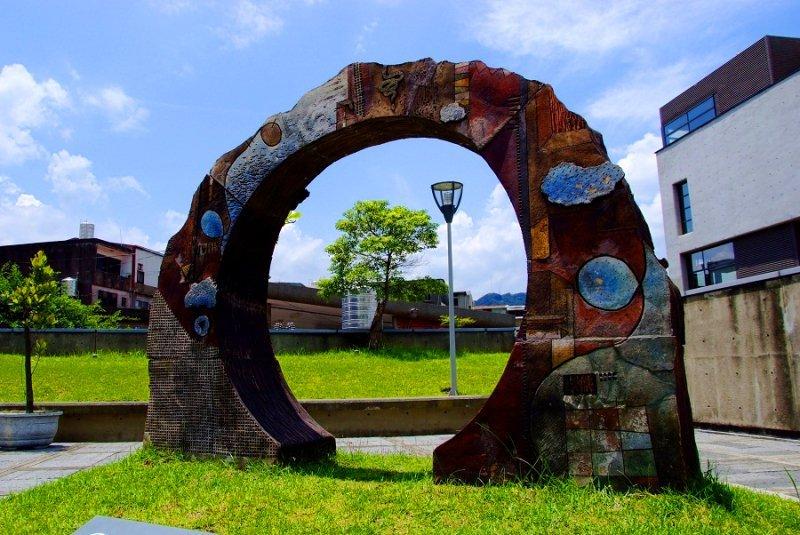 Yingge Ceramics Museum gate
