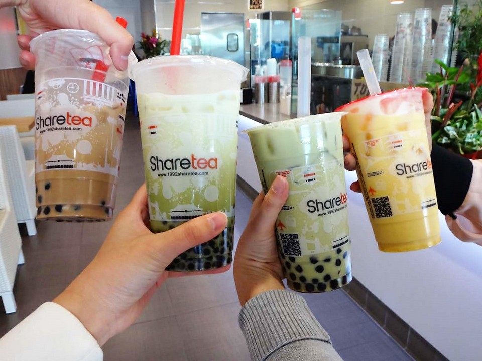 Bubble milk tea in Taiwan Image by: taiwan must eat blog.
