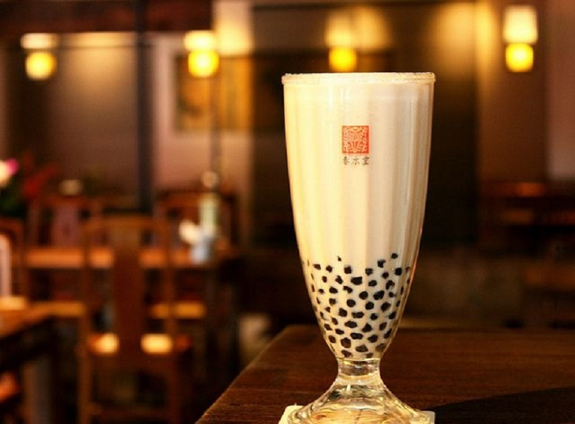 Bubble milk tea in Taiwan
