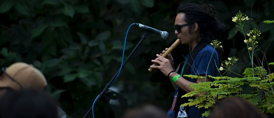 Enjoy music in the deep forest-rainforest music festival5