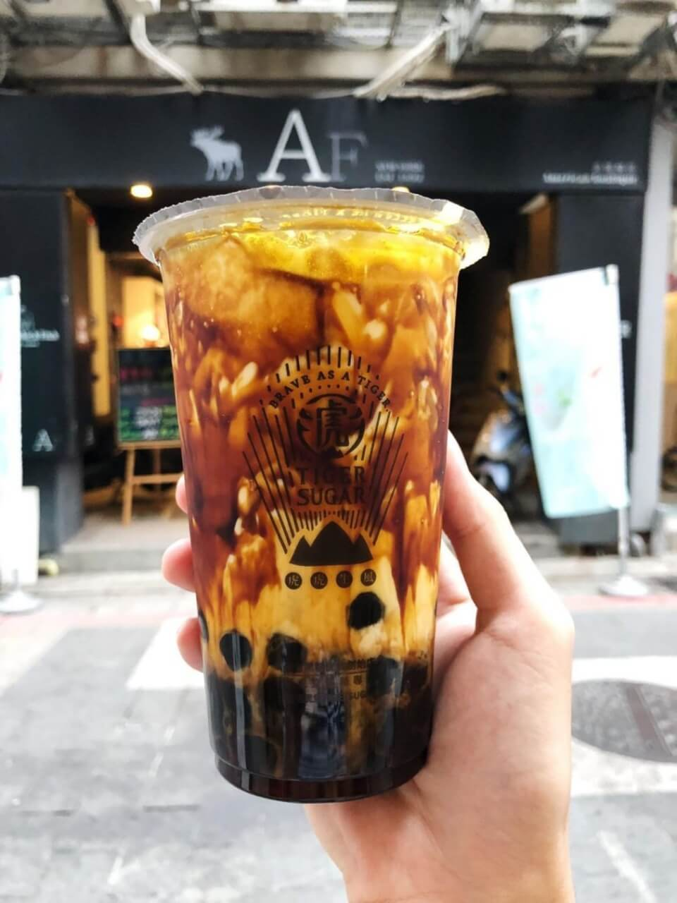 Taiwan bubble milk tea