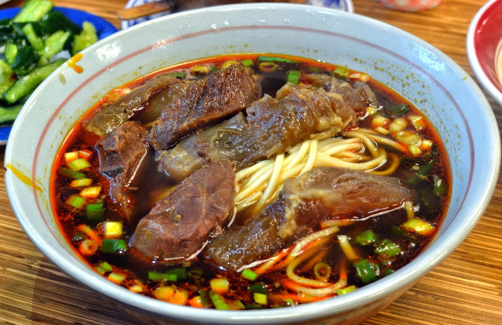 YONG KANG BEEF NOODLE Taipei Taiwan beef noodles
