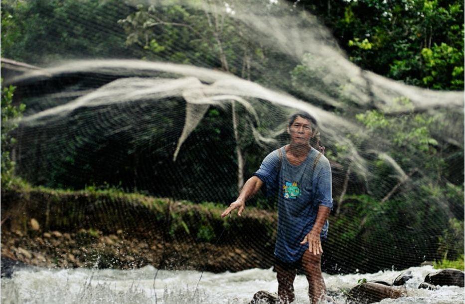 penan people-boreno island-malaysia