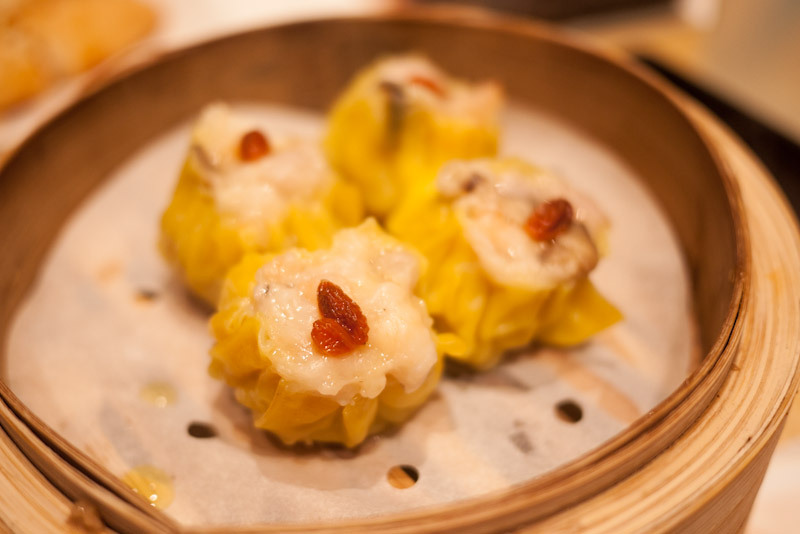 Pork Dumpling with Shrimp (or commonly termed as Shrimp Siomai) of Tim Ho Wan