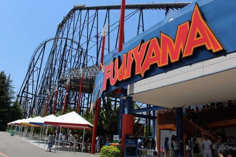 Fuji-Q Highland-fuji-japan4 Image by: places to visit near mt fuji blog.