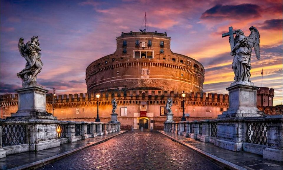 Castel Sant'Angelo-italy Photo by: 24 hours in rome blog.