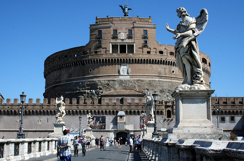 Castel Sant'Angelo-italy5 24 hours in rome 24 hours in rome one day in rome rome in a day and a half