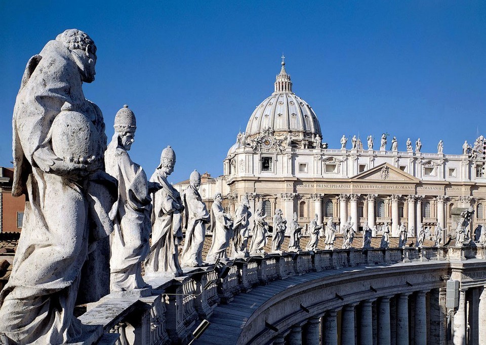 The Saint Peter's Basilica-rome-italy6
