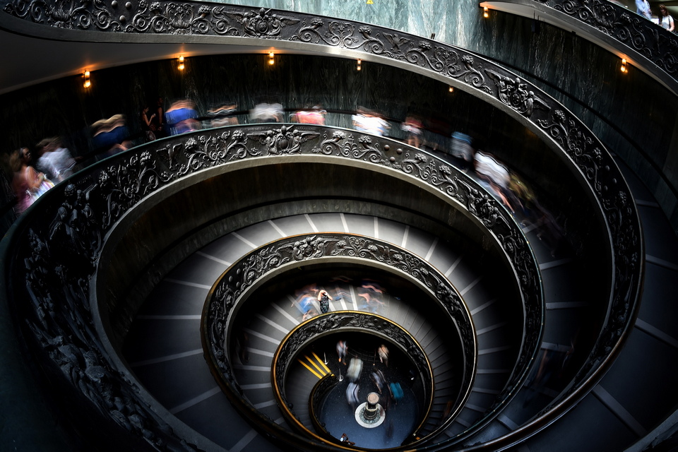 The Vatican Museum-rome-italy