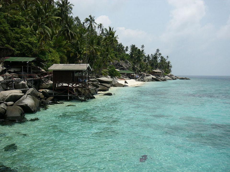 Small Beach on Pulau Aur