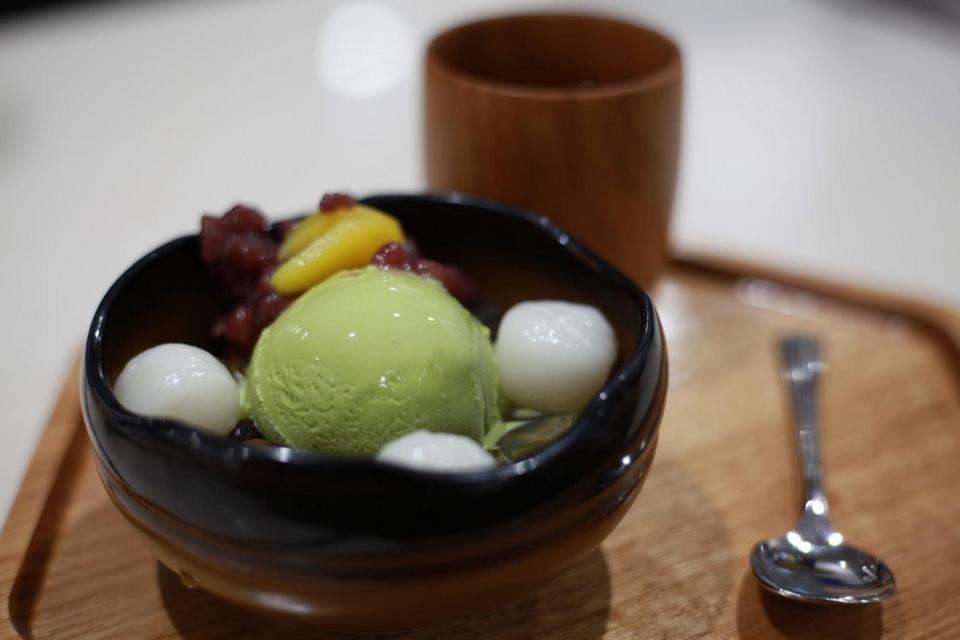 Anmitsu Ice cream-hokkaido-japan