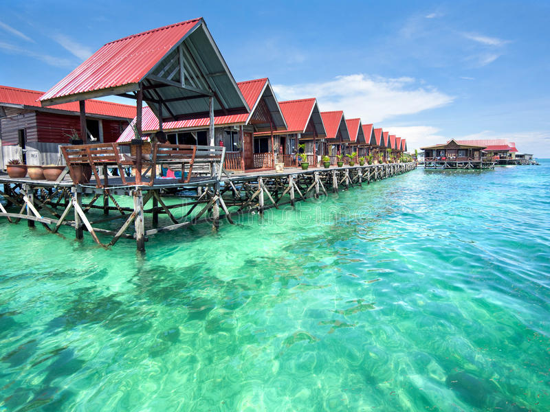 Bungalows On Mabul Island, Sabah top islands in malaysia best islands in malaysia malaysia beach holiday destinations