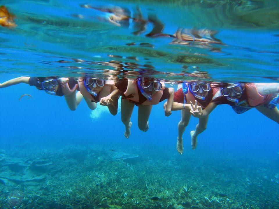 Perhentian Small Island snorkeling trip