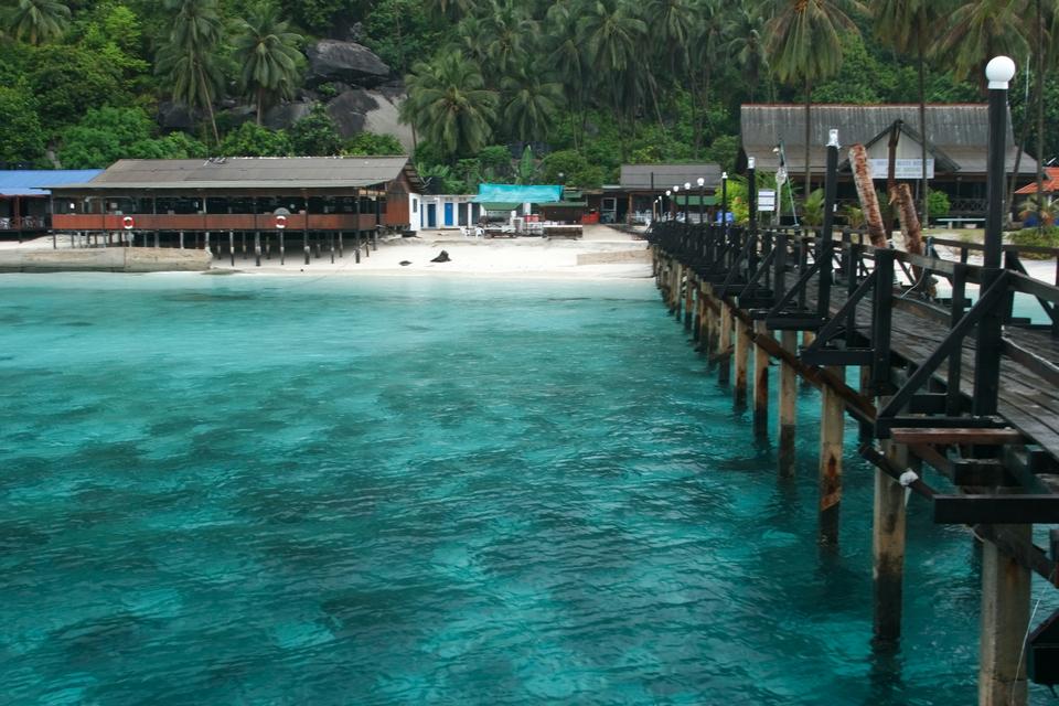 Pulau Aur, known locally as Aur Island