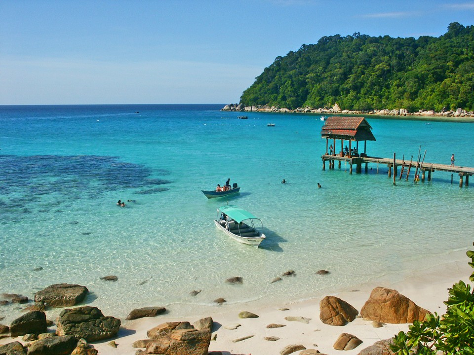 Terengganu is covered by beautiful beaches with warm and blue waters