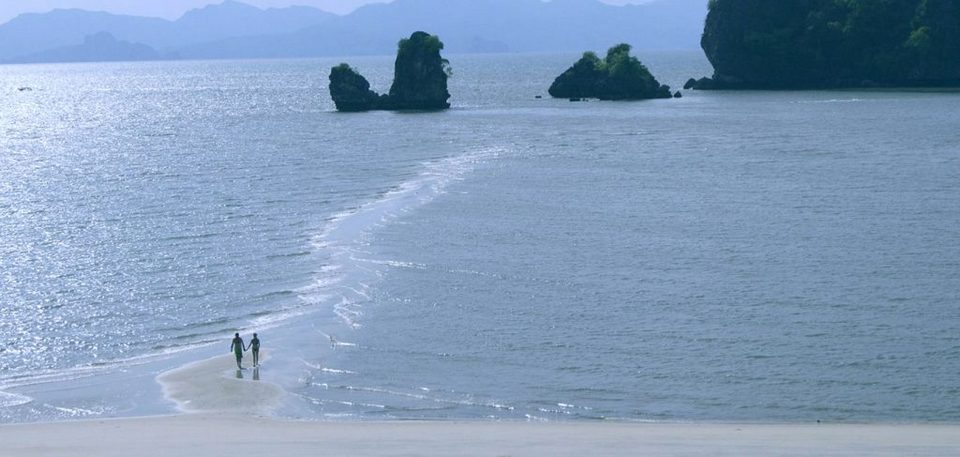 Tanjung Rhu Resort in Langkawi Malaysia Couples in Beach