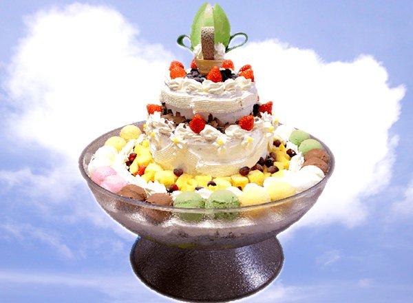 Dream Jumbo Parfait ice cream-hokkaido-japan
