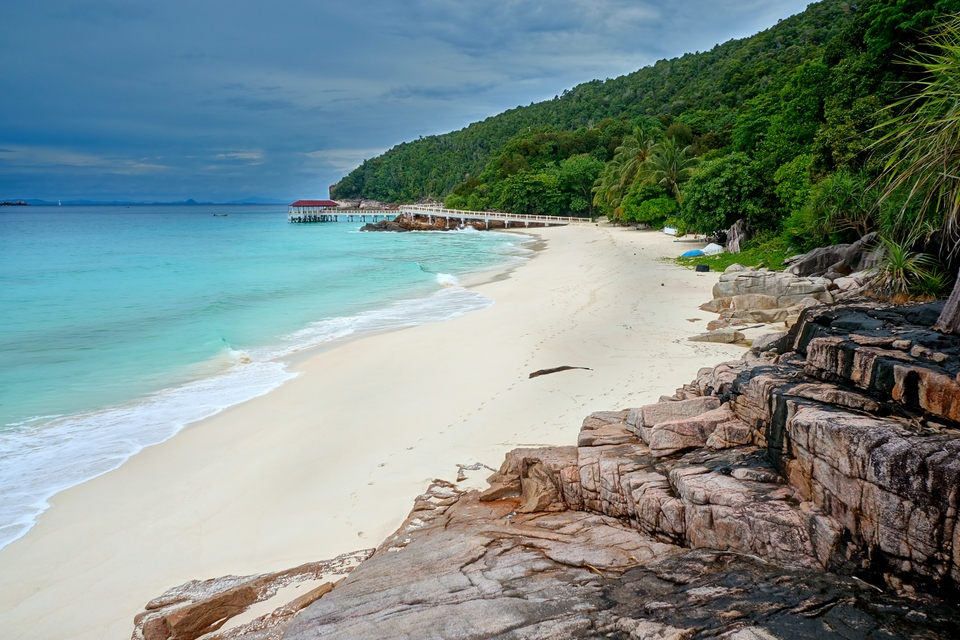 Tropical beach idyll on Pulau Redang top islands in malaysia best islands in malaysia malaysia beach holiday destinations