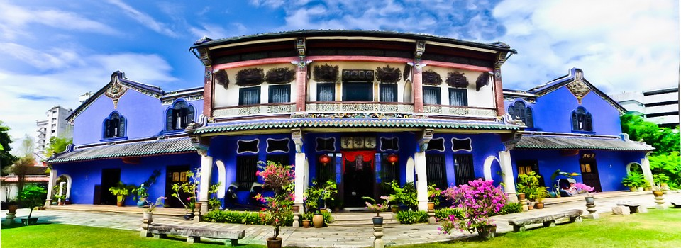 Cheong Fatt Tze Mansion -Blue House Penang