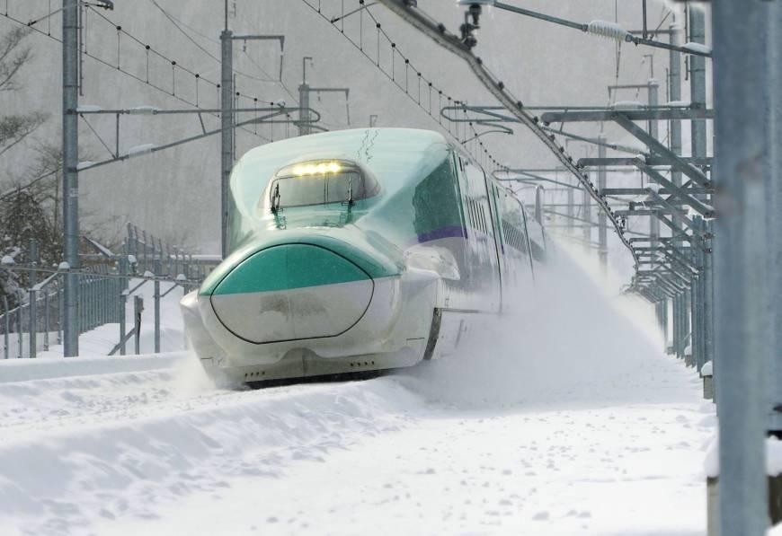 JR Hokkaido Shinkansen Bullet Train from Tokyo to Sapporo