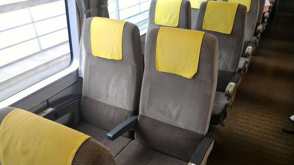Tokkyu Ordinary Car Seats (JR Haruka Airport Express)