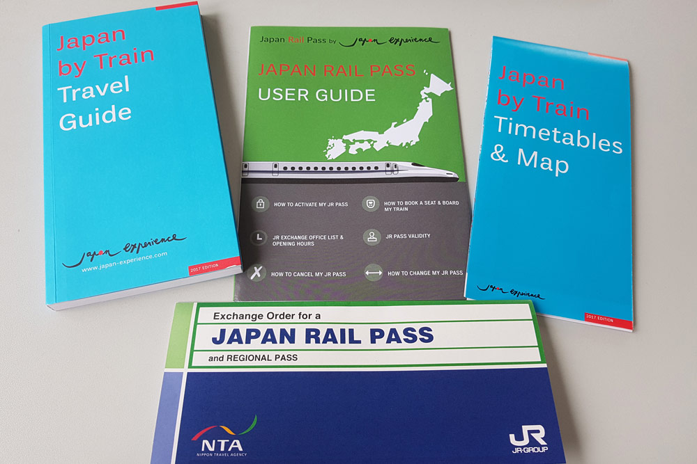 JR pass with user guide helps tourists plan their trip carefully