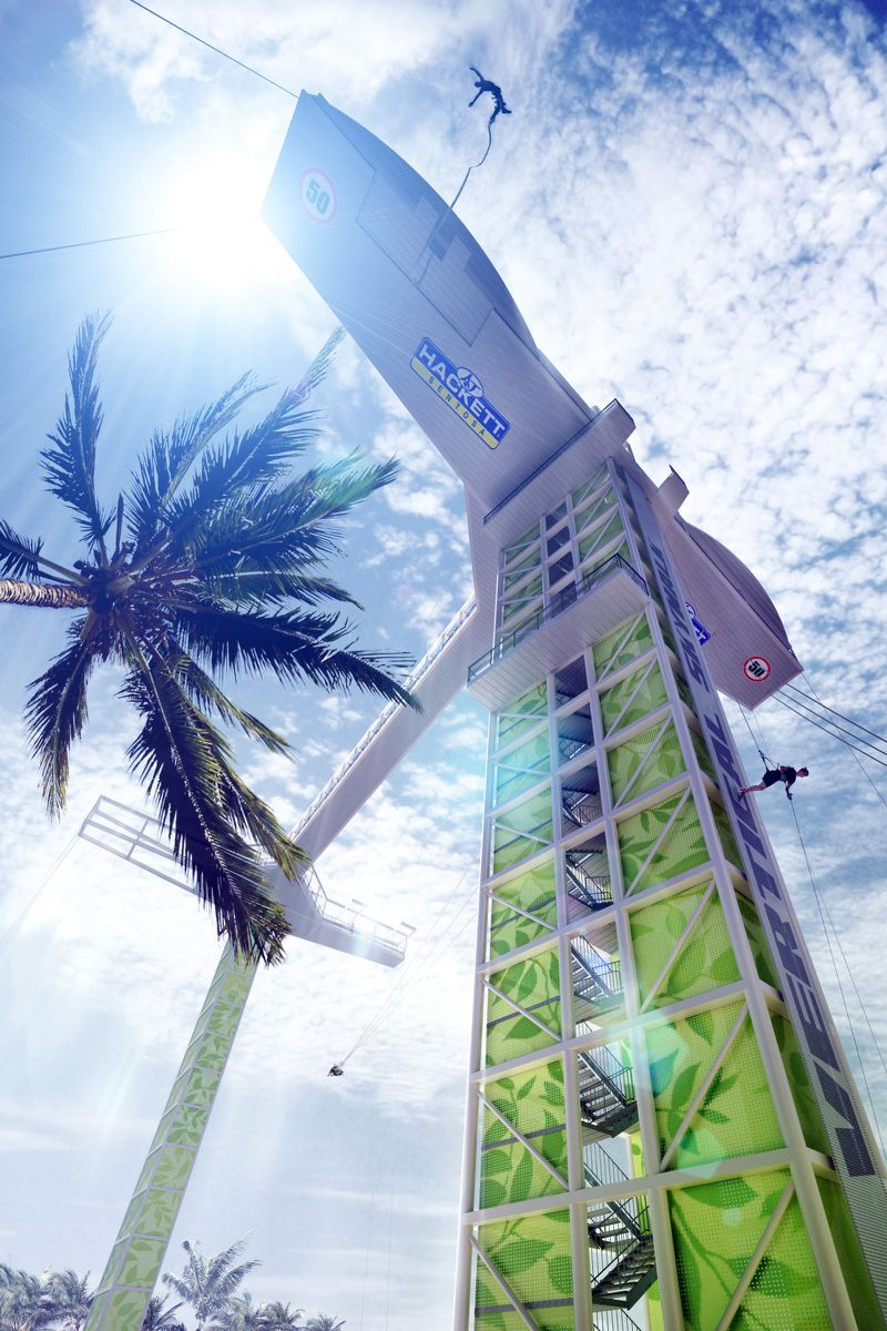 Skywalk -adventurous activities in Singapore7