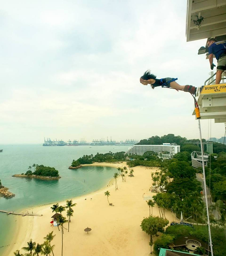 Bungee Jumping -adventurous activities in Singapore8 adventure activities in singapore outdoor adventure singapore extreme activities singapore