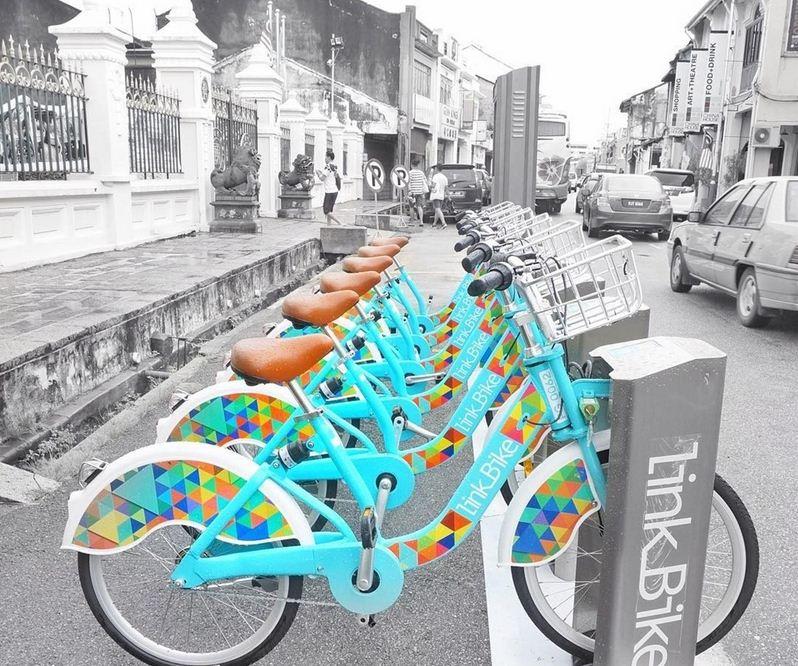 rent bike in penang