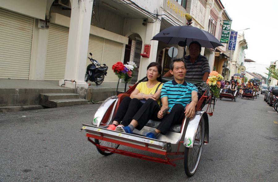 trishaw penang penang travel blog penang travel guide penang trip plan penang budget trip