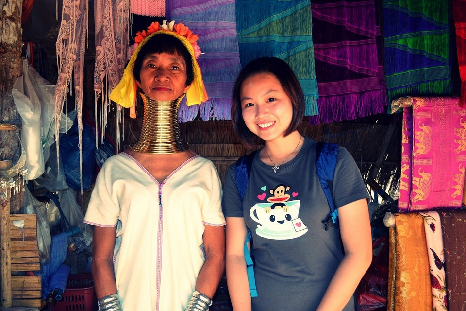 long neck women of Thailand-chiangmai-thailand12