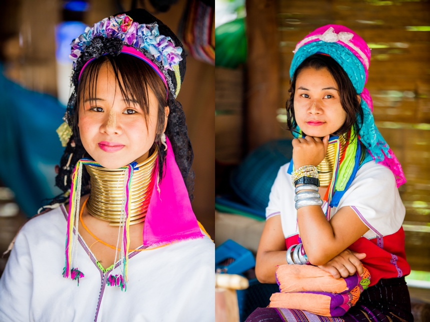long neck women of Thailand-chiangmai-thailand15