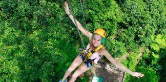 Dragon Flight Zipline-chiangmai-thailand
