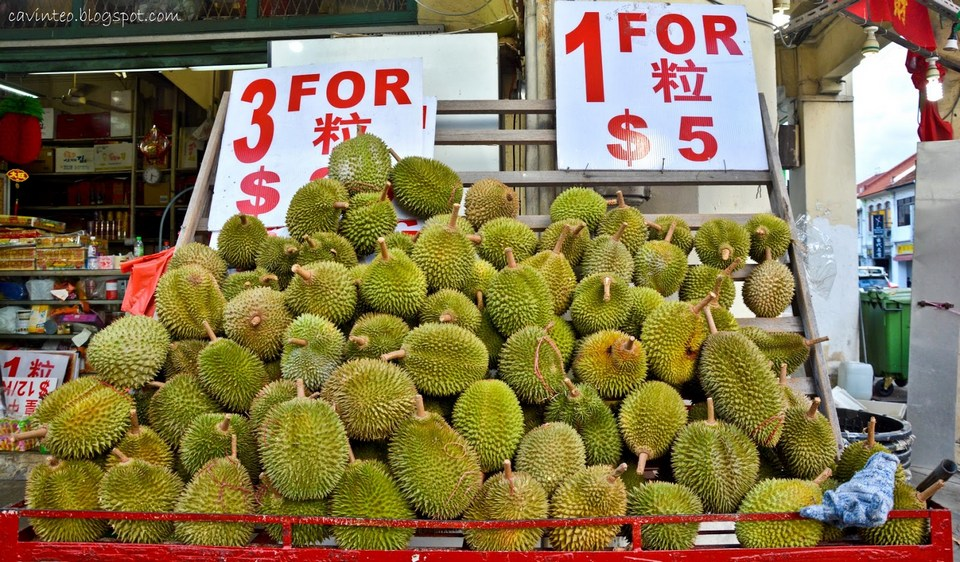 Durians at 606 Geylang Road