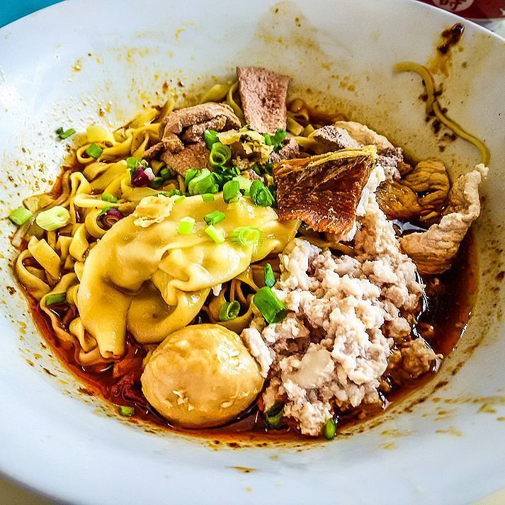 1 Michelin Star Bak Chor Mee of Hill Street Tai Hwa Pork Noodle