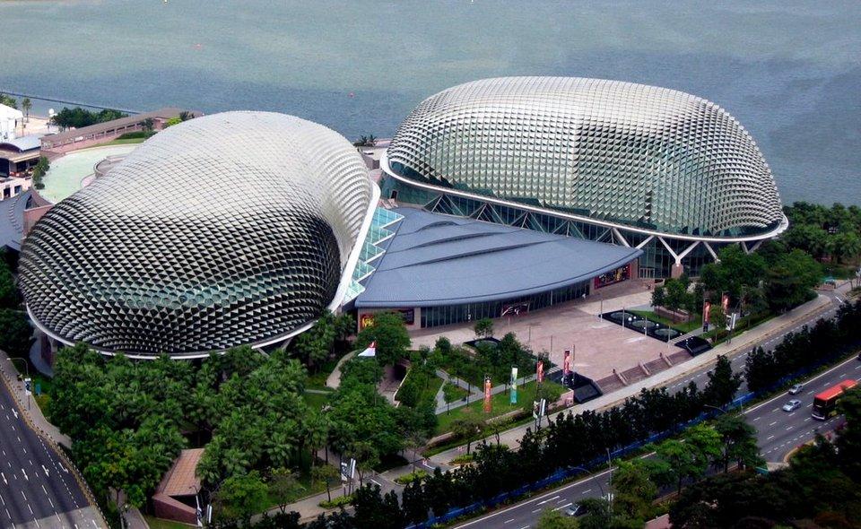 Singapore Durian building