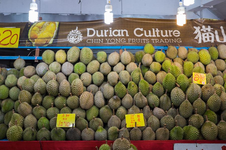 Singapore durian fest