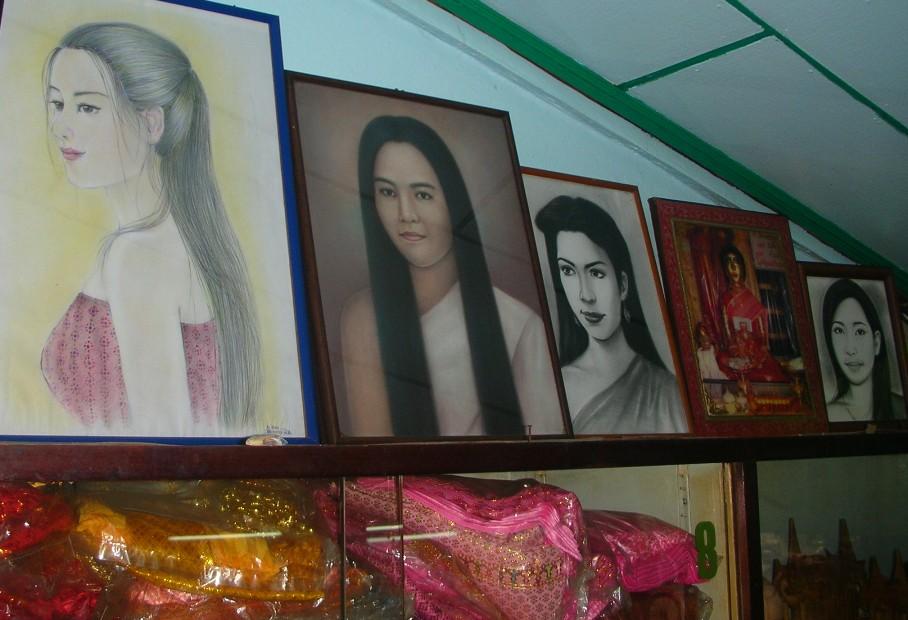 Mae Nak Phra Khanong portraits