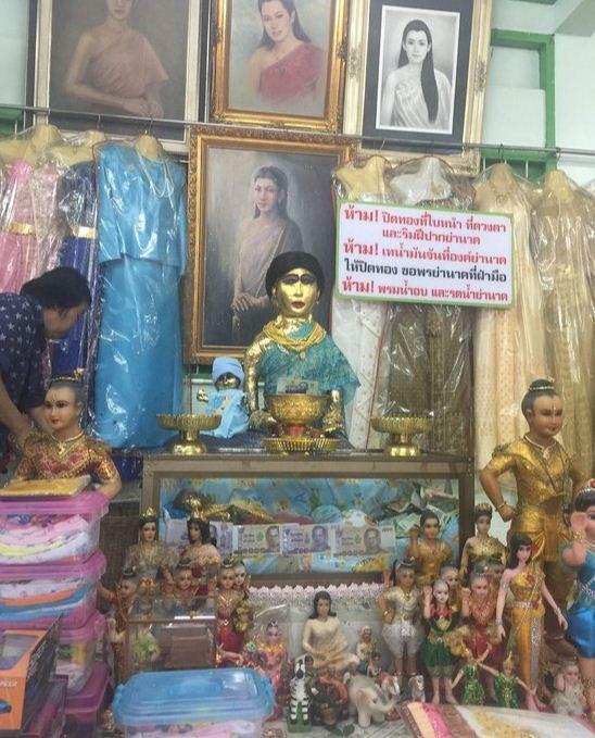 ghost of mae nak mae nak phra khanong mae nak shrine mae nak temple wat mahabut temple (1)