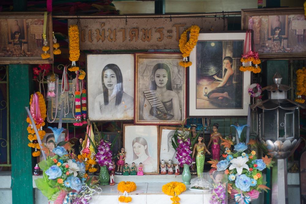 mae nak phra khanong (mae nak temple, mae nak shrine)