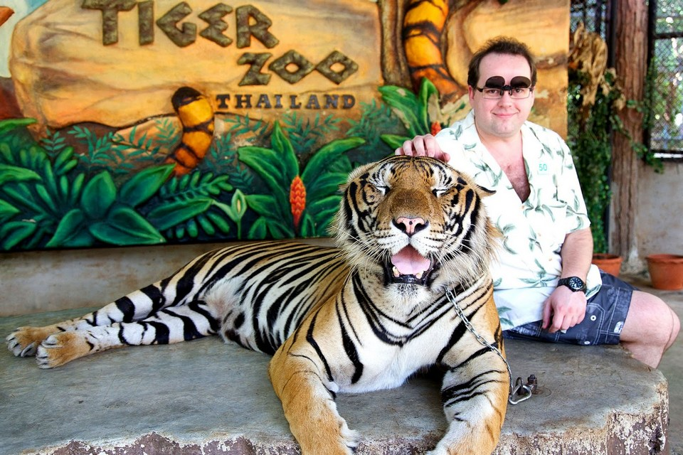 Sriracha Tiger Zoo - lord of forest-thailand3