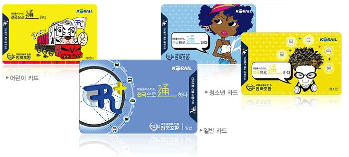 South Korea Railplus Transport Card-korea7 railplus card railplus korea railplus korail railplus card korea