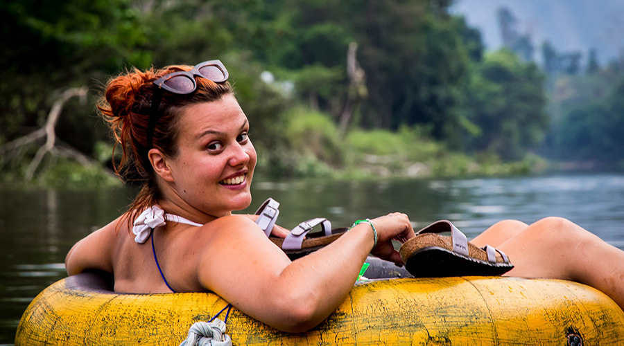 tubing-vang-vieng-come and experience tubing game at vang vieng-laos
