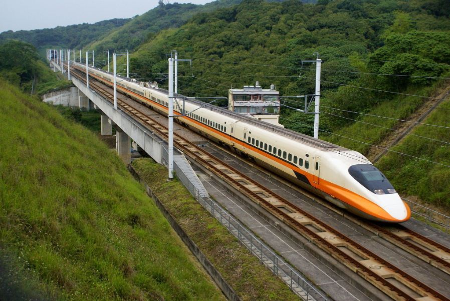 Transportation in Taiwan by HSR high speed train11