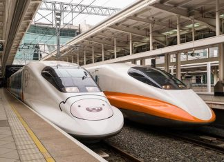 Transportation in Taiwan by HSR high speed train2