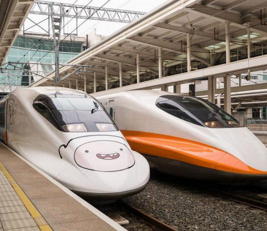 Transportation in Taiwan by HSR high speed train2