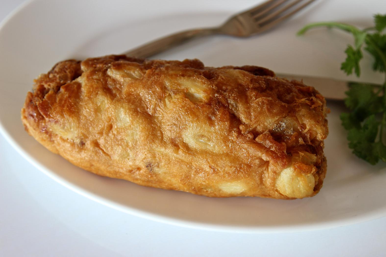 Jay Fai's crab omelet.