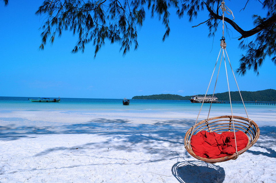 Koh Rong Samloem-most beautiful islands in Southeast Asia