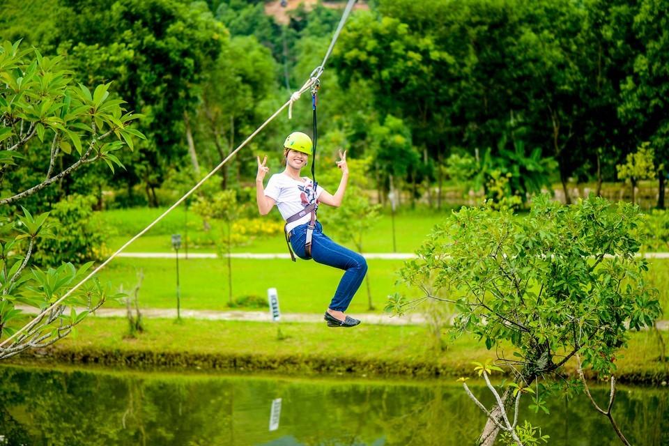Alba Thanh Tan Hot Springs Resort - zipline-Hue10 Alba Thanh Tan Hot Springs Resort - zipline